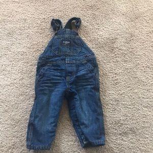 6 month OshKosh overalls
